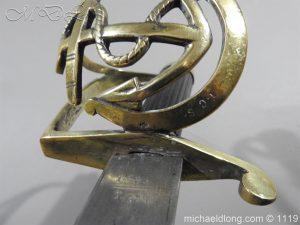 michaeldlong.com 4579 300x225 Naval Officer's Sword Dated 1801