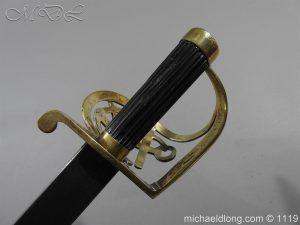 michaeldlong.com 4581 300x225 Naval Officer's Sword Dated 1801
