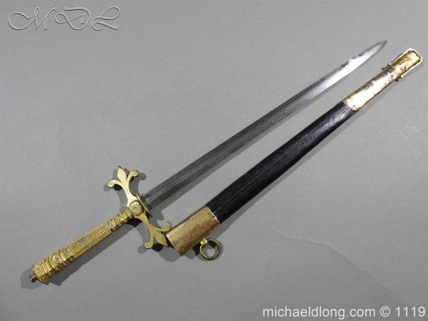 michaeldlong.com 4604 600x450 French Naval Dirk c 1810