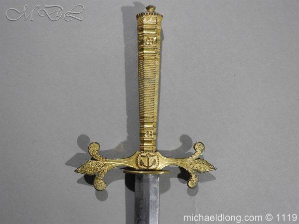 michaeldlong.com 4615 600x450 French Naval Dirk c 1810