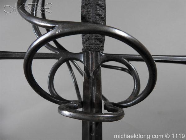 michaeldlong.com 4636 600x450 European Swept Hilt Rapier