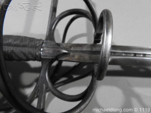 michaeldlong.com 4650 600x450 European Swept Hilt Rapier