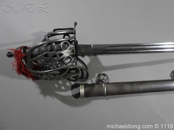 michaeldlong.com 4712 600x450 Royal Scots Fusiliers Victorian Officer's Sword