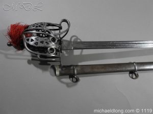 michaeldlong.com 4716 300x225 Royal Scots Fusiliers Victorian Officer's Sword