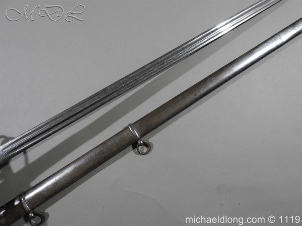 michaeldlong.com 4717 600x450 Royal Scots Fusiliers Victorian Officer's Sword