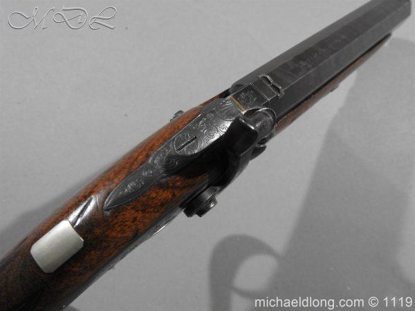 michaeldlong.com 4756 600x450 Percussion Pistol by Hollis Cheltenham