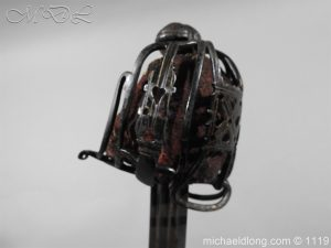michaeldlong.com 4775 300x225 Scottish Basket Hilted Sword Andrea Ferrara c1720