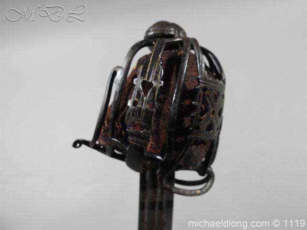 michaeldlong.com 4775 600x450 Scottish Basket Hilted Sword Andrea Ferrara c1720