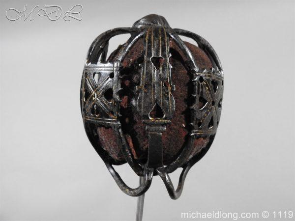 michaeldlong.com 4776 600x450 Scottish Basket Hilted Sword Andrea Ferrara c1720