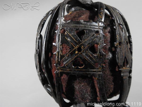michaeldlong.com 4777 600x450 Scottish Basket Hilted Sword Andrea Ferrara c1720