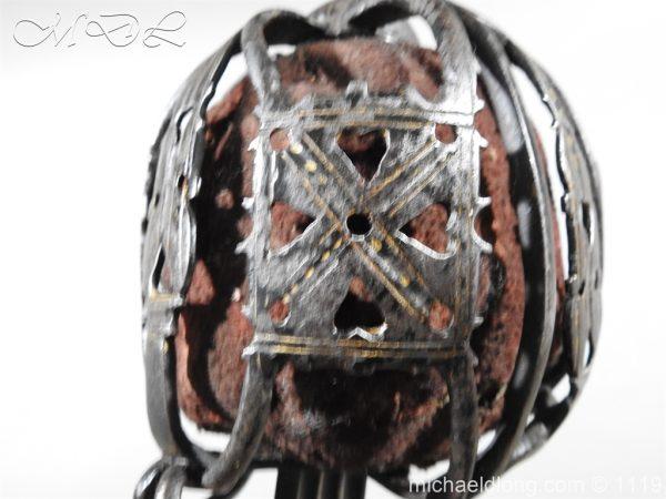 michaeldlong.com 4778 600x450 Scottish Basket Hilted Sword Andrea Ferrara c1720