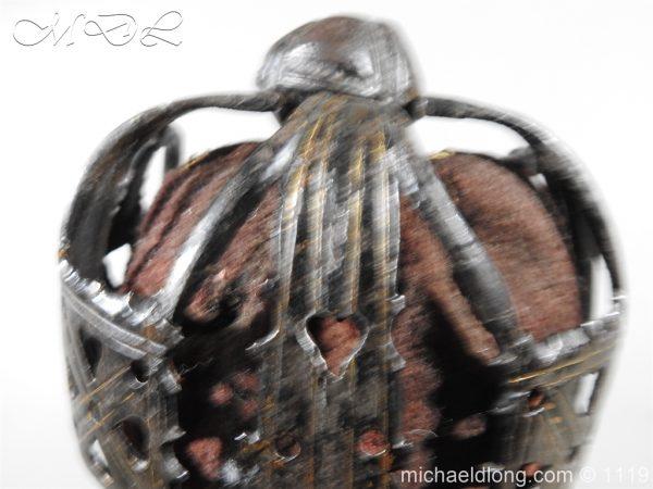 michaeldlong.com 4780 600x450 Scottish Basket Hilted Sword Andrea Ferrara c1720