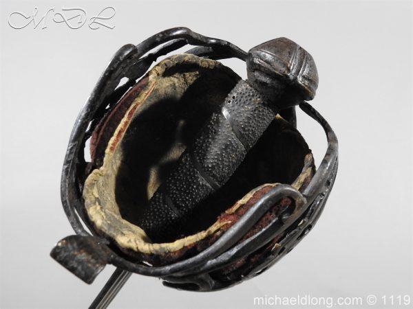michaeldlong.com 4782 600x450 Scottish Basket Hilted Sword Andrea Ferrara c1720