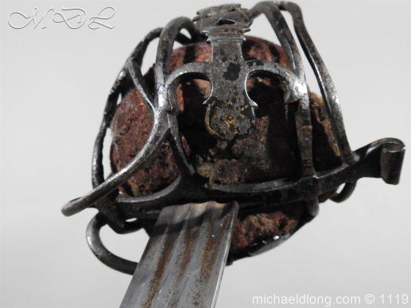 michaeldlong.com 4783 600x450 Scottish Basket Hilted Sword Andrea Ferrara c1720
