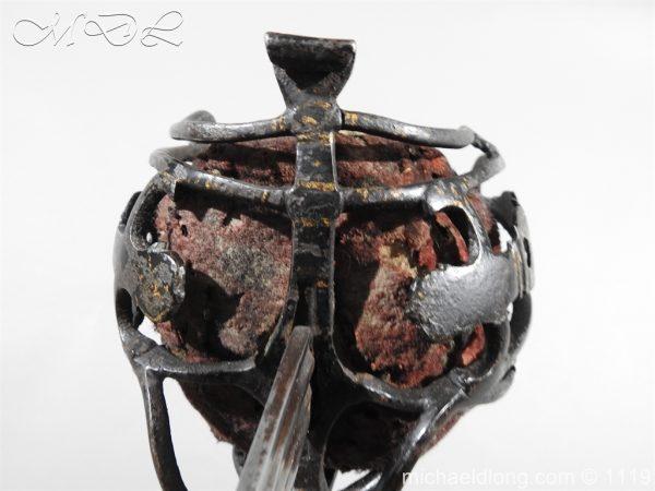 michaeldlong.com 4784 600x450 Scottish Basket Hilted Sword Andrea Ferrara c1720