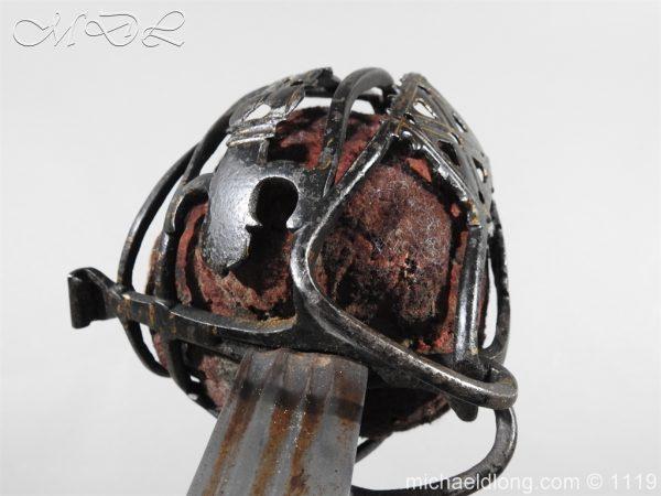 michaeldlong.com 4785 600x450 Scottish Basket Hilted Sword Andrea Ferrara c1720