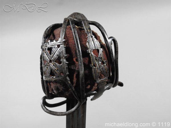 michaeldlong.com 4787 600x450 Scottish Basket Hilted Sword Andrea Ferrara c1720