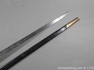 michaeldlong.com 4791 300x225 1796 Infantry Warrant Officer's Sword