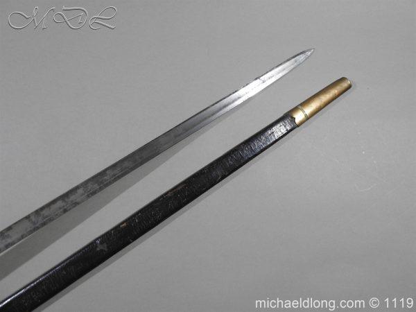michaeldlong.com 4791 600x450 1796 Infantry Warrant Officer's Sword