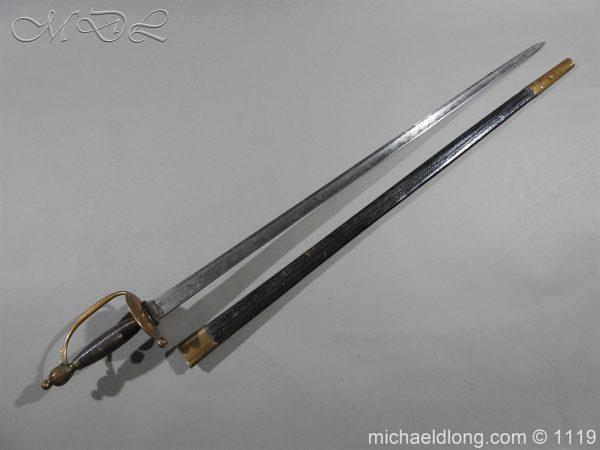 michaeldlong.com 4792 600x450 1796 Infantry Warrant Officer's Sword