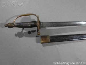 michaeldlong.com 4793 300x225 1796 Infantry Warrant Officer's Sword