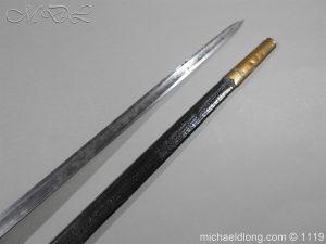 michaeldlong.com 4795 300x225 1796 Infantry Warrant Officer's Sword