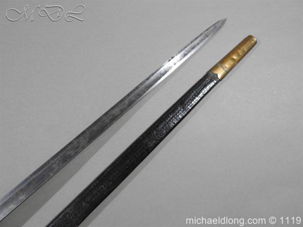 michaeldlong.com 4795 600x450 1796 Infantry Warrant Officer's Sword