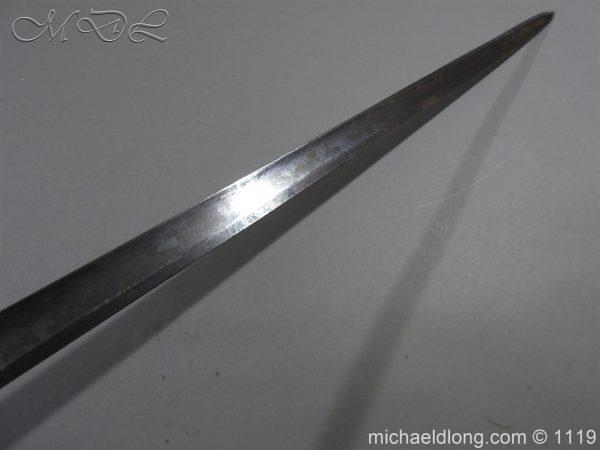 michaeldlong.com 4799 600x450 1796 Infantry Warrant Officer's Sword