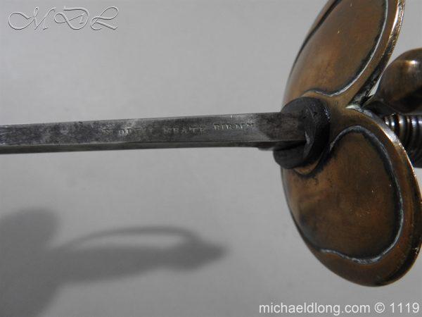 michaeldlong.com 4802 600x450 1796 Infantry Warrant Officer's Sword