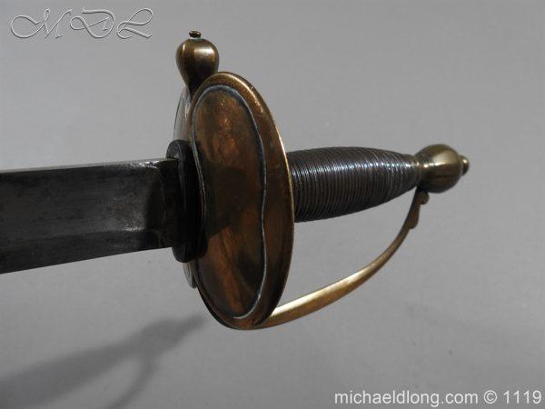 michaeldlong.com 4805 600x450 1796 Infantry Warrant Officer's Sword