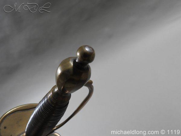 michaeldlong.com 4807 600x450 1796 Infantry Warrant Officer's Sword