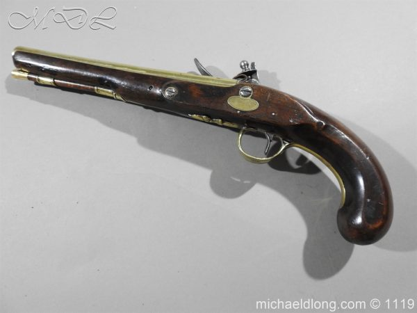 michaeldlong.com 4815 600x450 Flintlock Pistol by W Parker