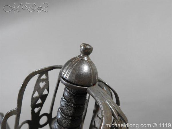 michaeldlong.com 4848 600x450 Scottish Basket Hilt Sword by Wilkinson