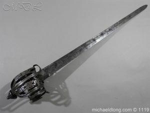 michaeldlong.com 4851 1 300x225 Scottish Basket Hilted Broad Sword c 1680