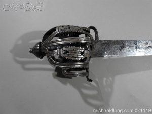 michaeldlong.com 4852 300x225 Scottish Basket Hilted Broad Sword c 1680