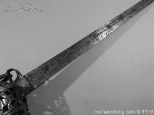 michaeldlong.com 4853 300x225 Scottish Basket Hilted Broad Sword c 1680