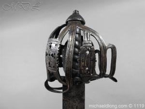 michaeldlong.com 4860 300x225 Scottish Basket Hilted Broad Sword c 1680