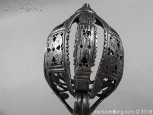 michaeldlong.com 4862 300x225 Scottish Basket Hilted Broad Sword c 1680