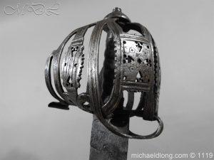 michaeldlong.com 4864 300x225 Scottish Basket Hilted Broad Sword c 1680