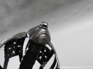 michaeldlong.com 4868 300x225 Scottish Basket Hilted Broad Sword c 1680