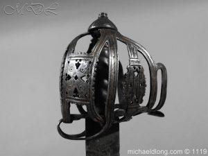 michaeldlong.com 4873 300x225 Scottish Basket Hilted Broad Sword c 1680