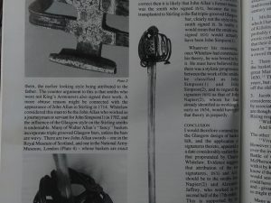 michaeldlong.com 4876 300x225 Scottish Basket Hilted Broad Sword c 1680