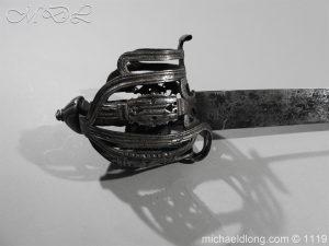 michaeldlong.com 4880 300x225 Scottish Basket Hilted Broad Sword c 1680