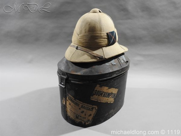 michaeldlong.com 4939 600x450 Royal Scots Guards Officer's Wolseley Helmet