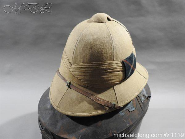 michaeldlong.com 4940 600x450 Royal Scots Guards Officer's Wolseley Helmet