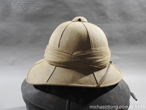 michaeldlong.com 4941 600x450 Royal Scots Guards Officer's Wolseley Helmet