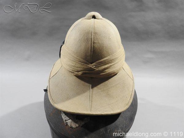 michaeldlong.com 4942 600x450 Royal Scots Guards Officer's Wolseley Helmet