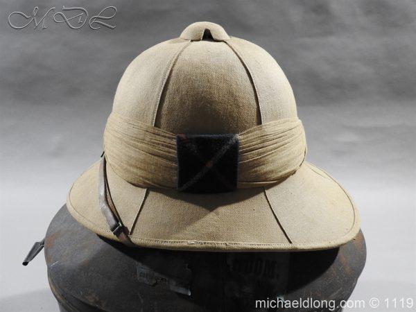 michaeldlong.com 4943 600x450 Royal Scots Guards Officer's Wolseley Helmet