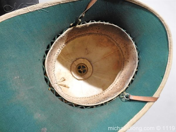 michaeldlong.com 4945 600x450 Royal Scots Guards Officer's Wolseley Helmet
