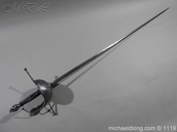 michaeldlong.com 4975 600x450 Spanish Cup Hilt Rapier c 1680